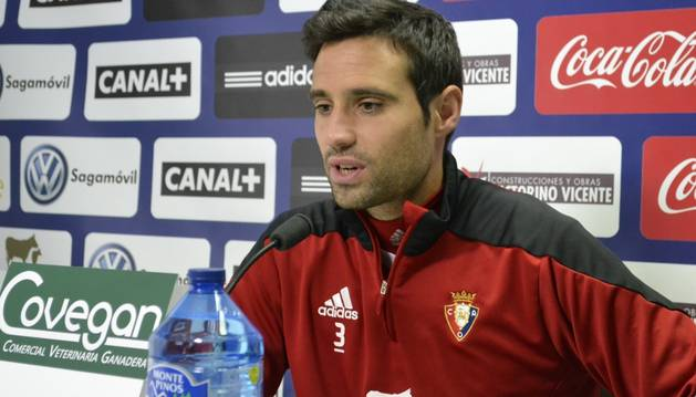 Javier Flaño, en rueda de prensa