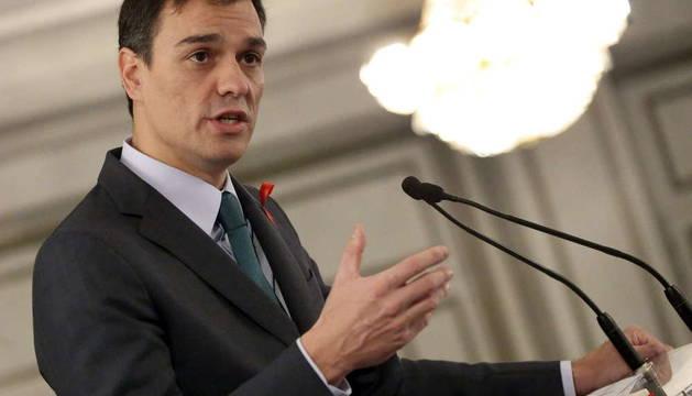 Pedro Sánchez, en el foro de Cinco Días