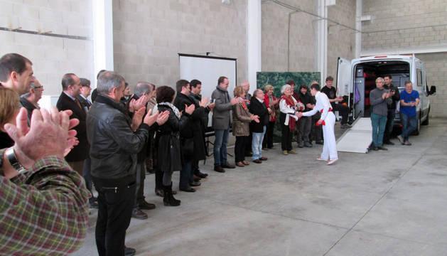 Inauguración de los nuevos locales de la Mancomunidad Irati.