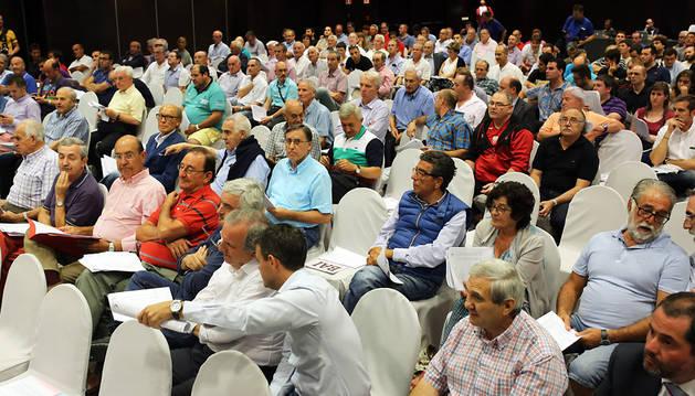 Imagen de la asamblea ordinaria de compromisarios del pasado septiembre