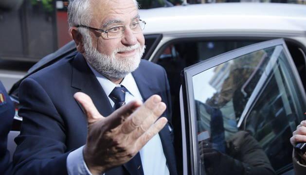 Juan Cotino, a su llegada al TSJCV