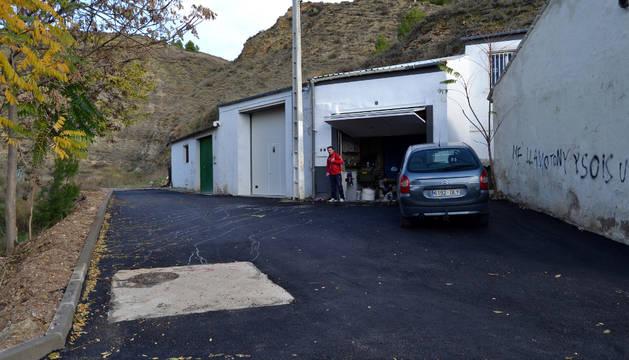 El asfaltado del conocido como barranco del Abad pone punto final a los trabajos de las últimas semanas.