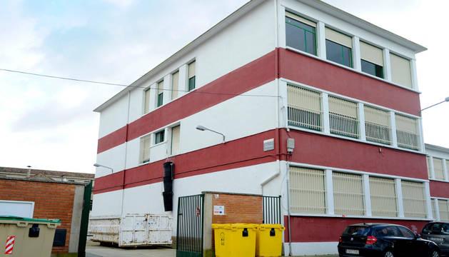 Edificio de la Laboral de Peralta que se reformará.