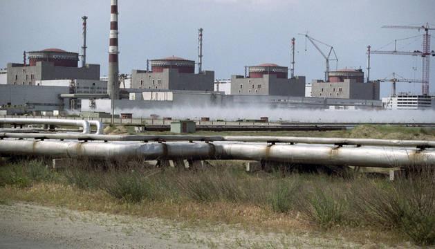 La mayor central nuclear ucraniana sufre una avería