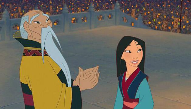 Fotograma de la película 'Mulán'
