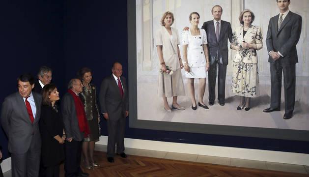 Inauguración en el Palacio Real de la exposición