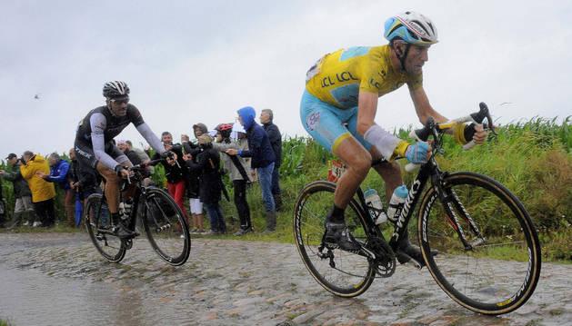 Nibali, en el pasado Tour de Francia