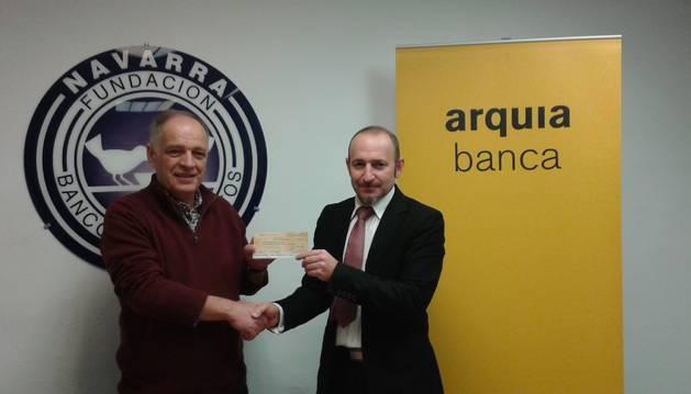 Arquia Banca dona 100.000 Euros al Banco de Alimentos.