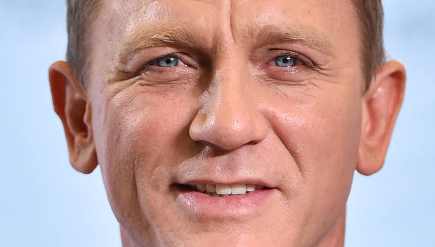 El actor Daniel Craig