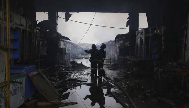 Los muyahidines chechenos reivindican el ataque en Grozni