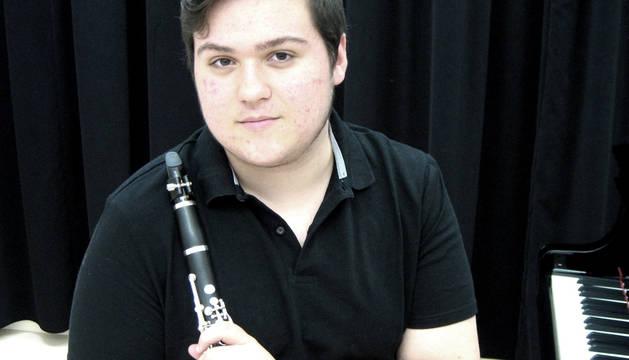El clarinetista Miguel Ayerra