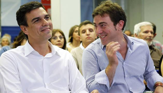 El líder del PSOE, Pedro Sánchez, asistirá el día 13 en Navarra al congreso del PSN