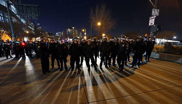 Al menos 83 detenidos por las protestas de anoche en Nueva York