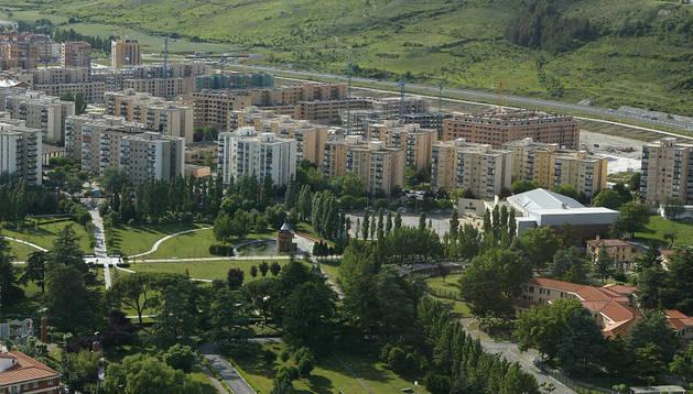 Zona de Orvina, en la Chantrea, donde se automatizará el riego