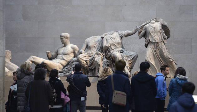 El préstamo de una estatua del Partenón indigna a Grecia