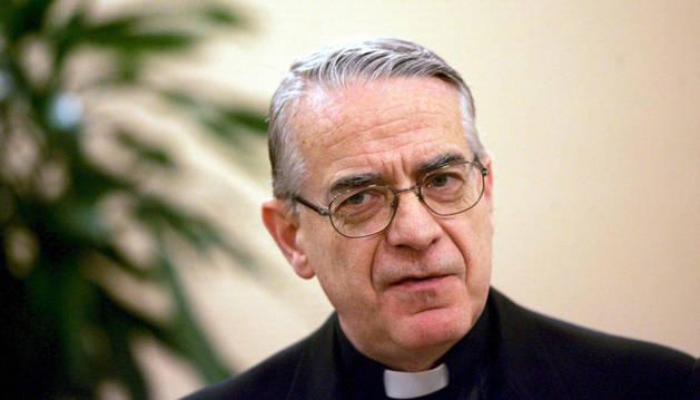 El portavoz vaticano, Federico Lombardi