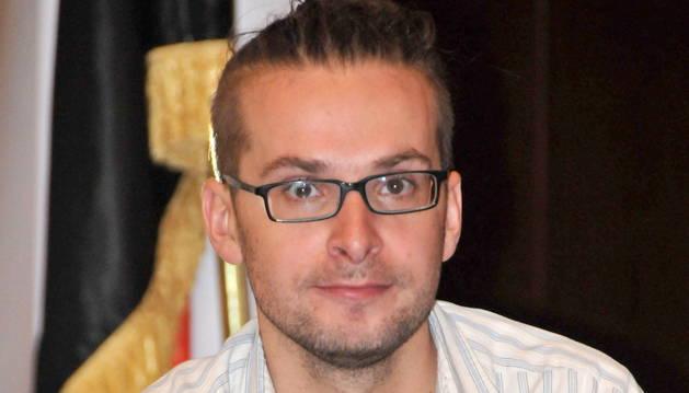 El periodista Luke Somers