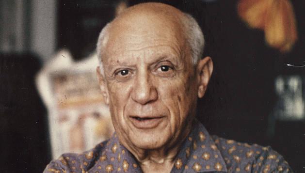 El artista Pablo Picasso