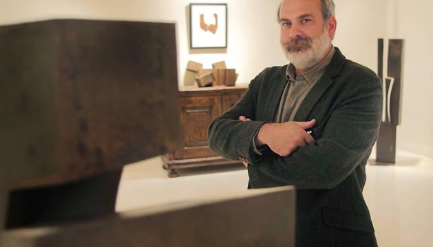 El pintor y escultor Carlos Ciriza.