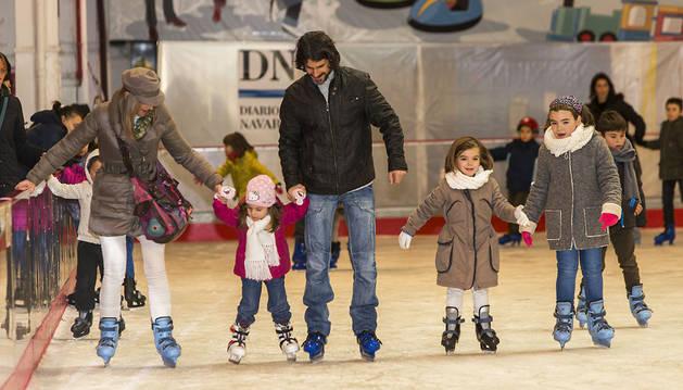 El hielo pone a prueba a los 'patinadores'