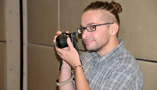 El periodista asesinado Luke Somers.