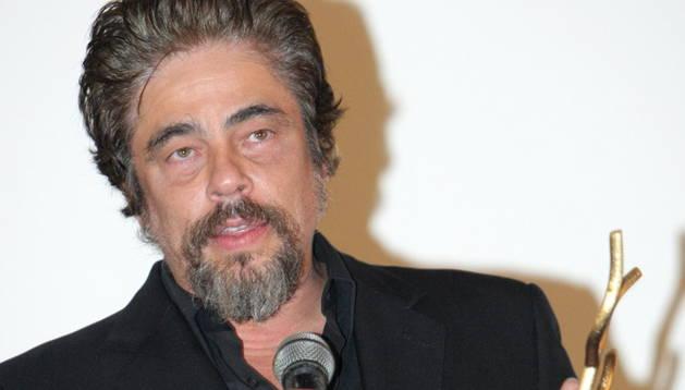 Del Toro recoge el premio Coral en La Habana