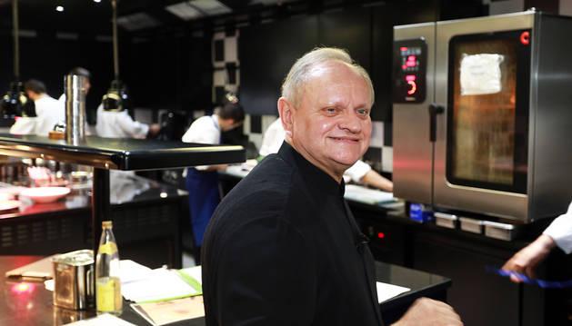 Joël Robuchon, el cocinero de las 28 estrellas