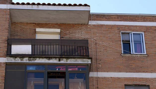 Vista de la vivienda donde se han producido los crímenes.