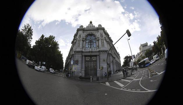 Sede del Banco de España, en la Plaza de Cibeles en Madrid