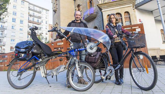 El empuje de la bicicleta eléctrica