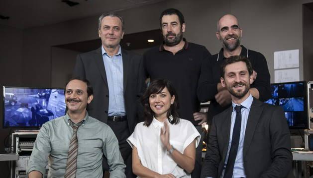 El equipo que trabaja en la película