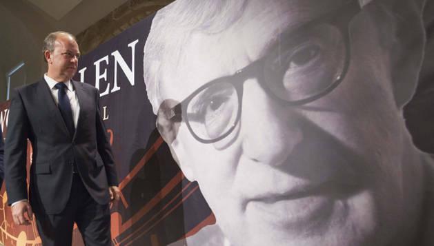 Presentación del concierto de Woody Allen en Badajoz