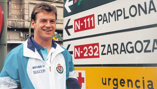 Jan Urban, en su etapa en el Valladolid