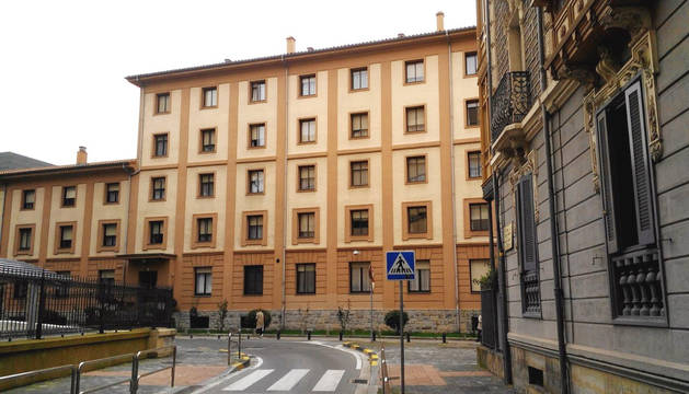 Edificio donde se ha producido el suceso.