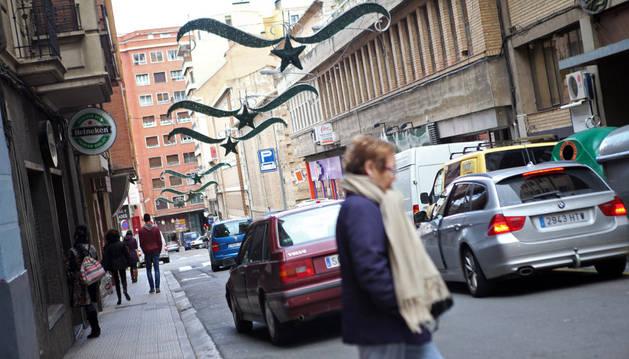 Tudela duplicará el número de calles con iluminación navideña