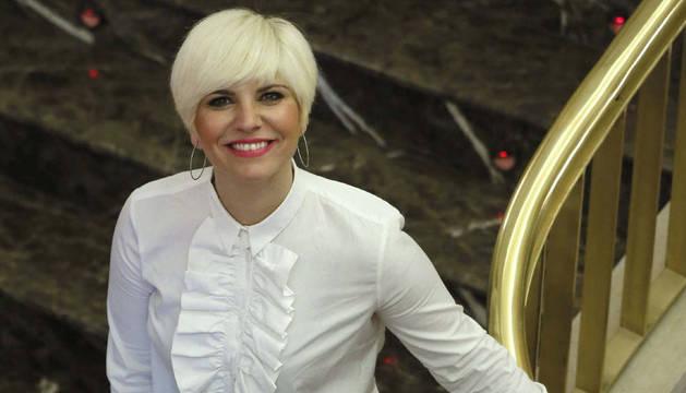 La cantante Pasión Vega
