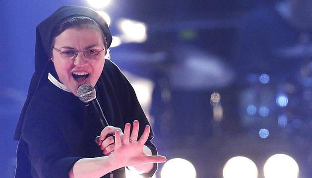 La cantante sor Cristina