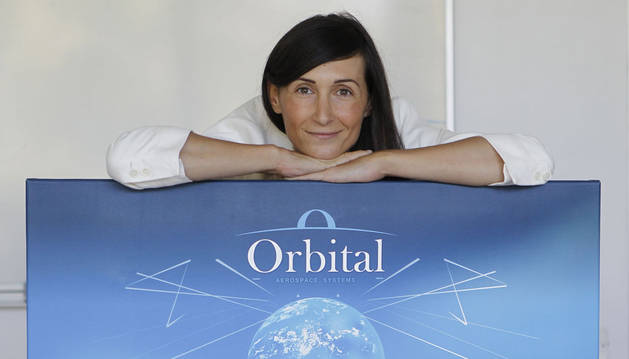 Ascen Cruchaga, directora general de Orbital Aerospace