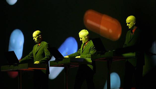 Kraftwerk, en Benicasim en 2004.