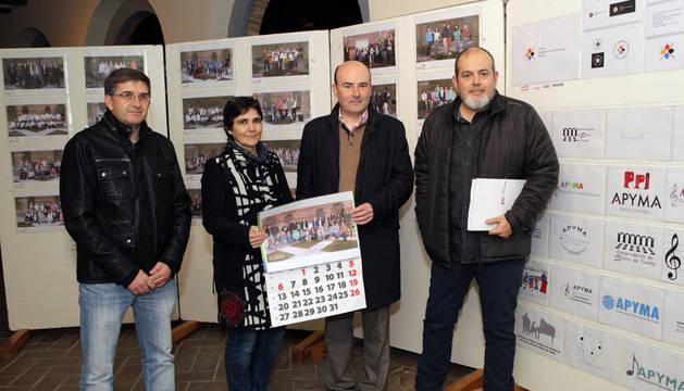Francisco Javier Aguerri Serrano, Puri Zabalza López, Santiago Fernández González, e Iñaki Marqués Rubio.
