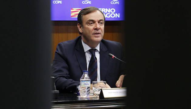El presidente de la Audiencia Nacional, José Ramón Navarro Miranda.