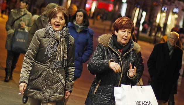 Un estudio define quince ejes de estrategia comercial en Pamplona