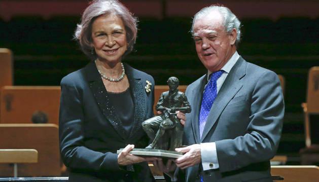 La Reina Sofía recibe el galardón