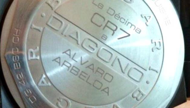 La imagen de Cristiano con Arbeloa y su reloj