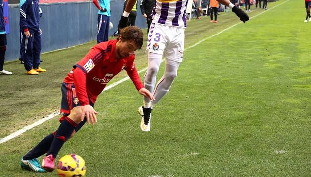 Imágenes del Osasuna-Valladolid