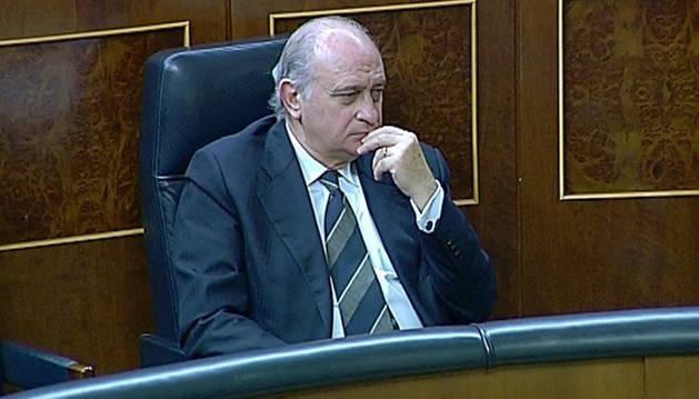El ministro de Interior, Jorge Fernández