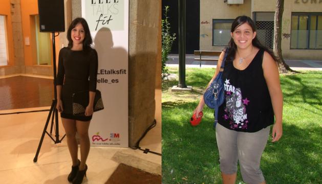 María Corbacho, antes y ahora