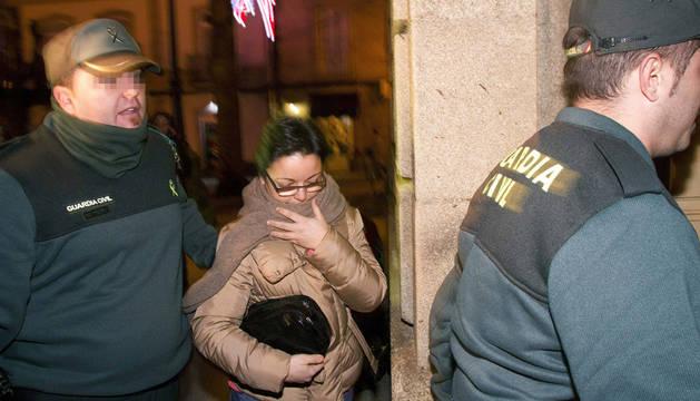 Marta Paz, una de las dos personas detenidas en relación con la supuesta secta de Oia (Pontevedra)