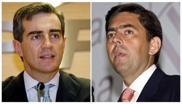 Ricardo Costa (izquierda) y Vicente Rambla