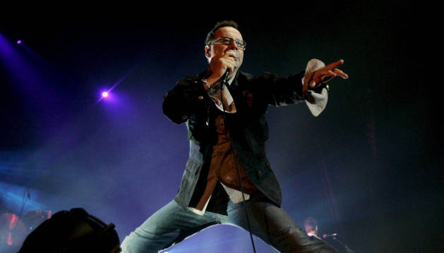 El vocalista de Simple Minds, Jim Kerr